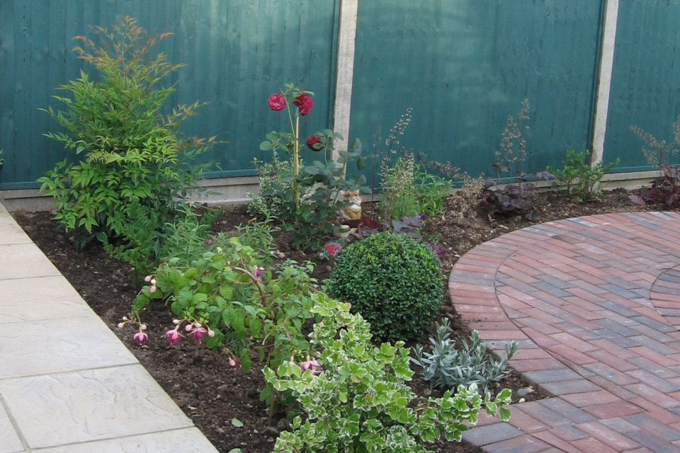 Wheelchair access garden