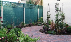 Wheelchair access garden